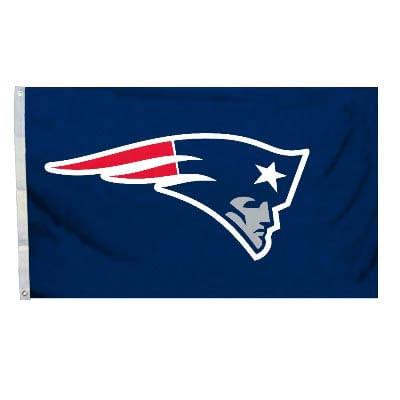New England Patriots Logo Flag (Navy)