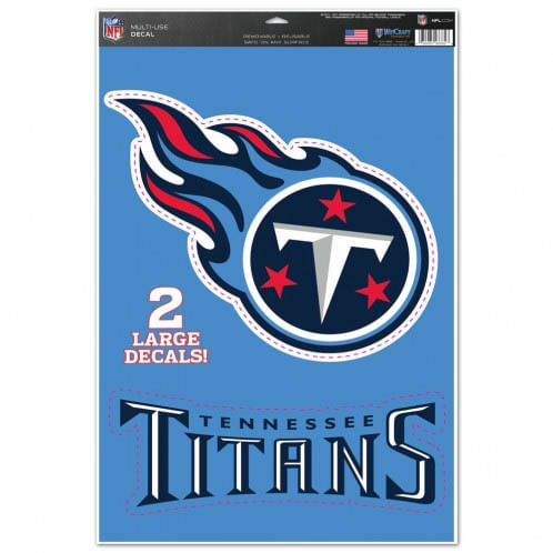 Tennessee Titans 11X17 Multiple Use Decals (2 Pack)