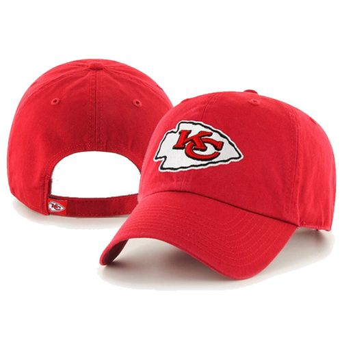 '47 Brand Kansas City Chiefs Clean Up Adjustable Hat (Red)