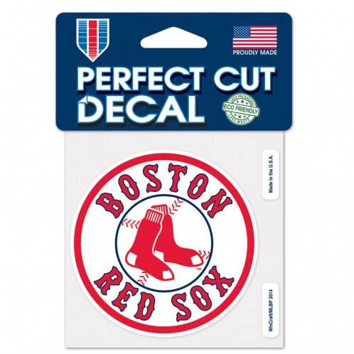 Boston Red Sox Diecut Decal (4X4)