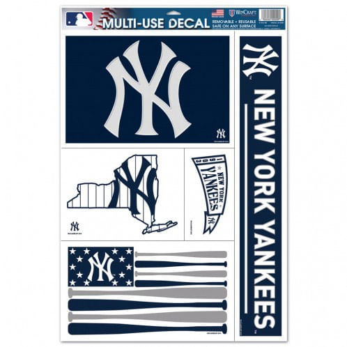 New York Yankees Multiple Use Decals (5 Pack)