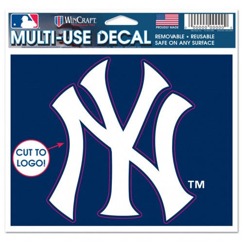 New York Yankees Logo Cut to Decal