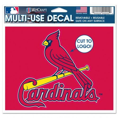 St. Louis Cardinals Logo Cut to Decal
