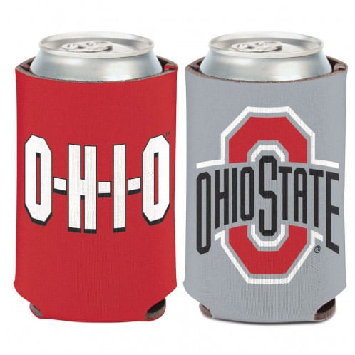 Ohio State Buckeyes Slogan Double Sided Can Cooler