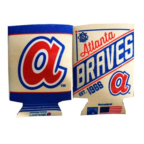 Atlanta Braves C'Town Double Sided Can Cooler