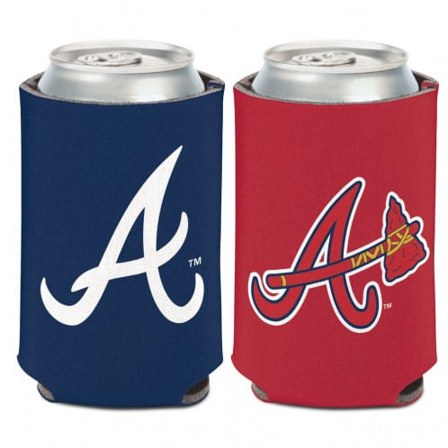 Atlanta Braves 2 Color Can Cooler