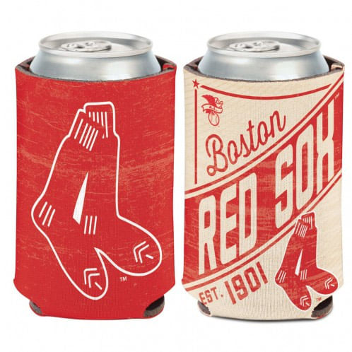 Boston Red Sox C'Town Double Sided Can Cooler
