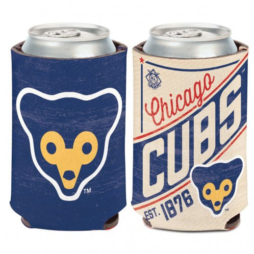 Chicago Cubs C'Town Double Sided Can Cooler