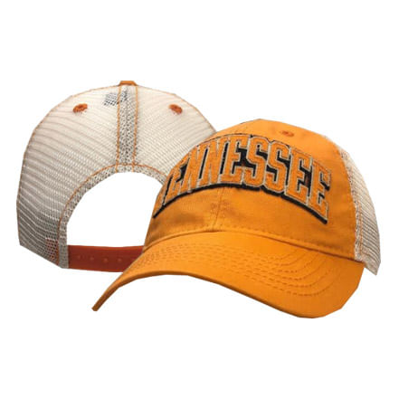 Legacy Tennessee Volunteers Arched Old Favorite Trucker Adjustable Hat (Orange)