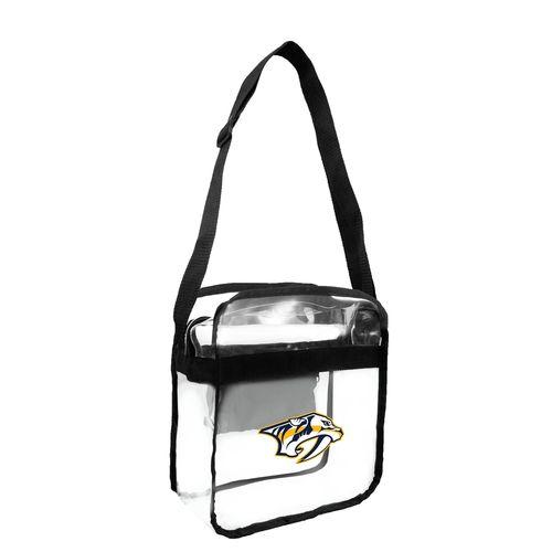 Nashville Predators Clear Cross Body Tote Bag
