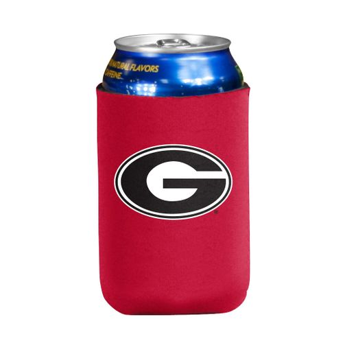 Georgia Bulldogs Flat Coozie (Red)