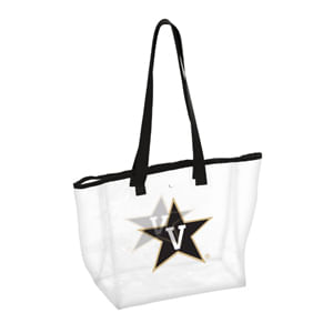 Vanderbilt Commodores Clear Stadium Bag (Clear/Black)