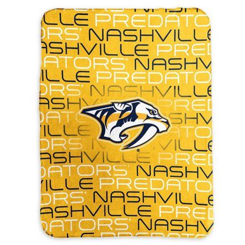 Nashville Predators Classic Fleece Blanket