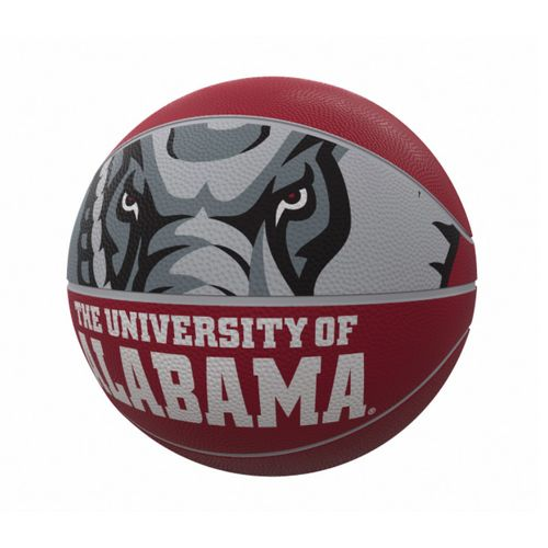 Alabama Crimson Tide Mascot Full Size Rubber Basketball