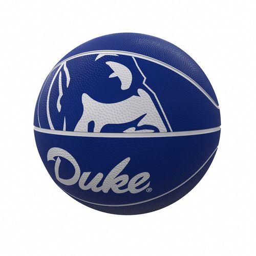 Duke Blue Devils Mascot Full Size Rubber Basketball
