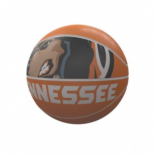 Tennessee Volunteers Mascot Full Size Rubber Basketball
