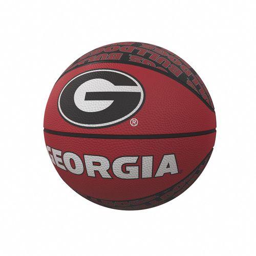 Georgia Bulldogs Mini Rubber Basketball