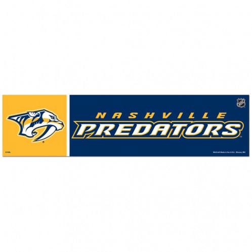 Nashville Predators Bumper Strip