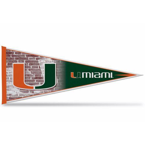 Miami Hurricanes Team Pennant