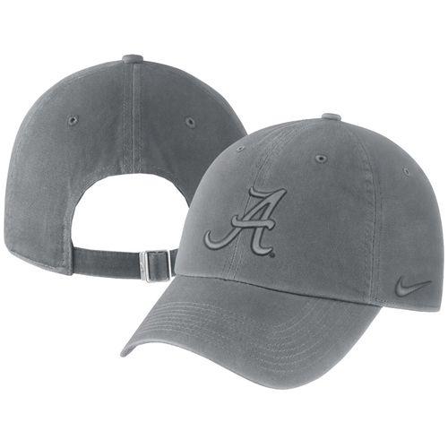 Nike Alabama Crimson Tide Pigment Adjustable Hat (Anthracite)