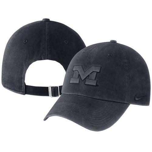 Nike Michigan Wolverines Pigment Adjustable Hat (Navy)