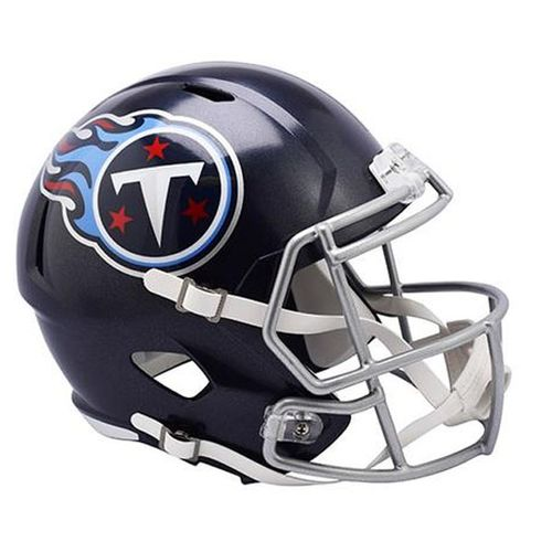 Tennessee Titans New Logo Mini Speed Helmet (Navy)