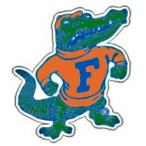 "Florida Gators Reflective ""Albert"" Sticker"