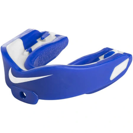 Nike Hyperstrong Mouth Guard (Royal/White)