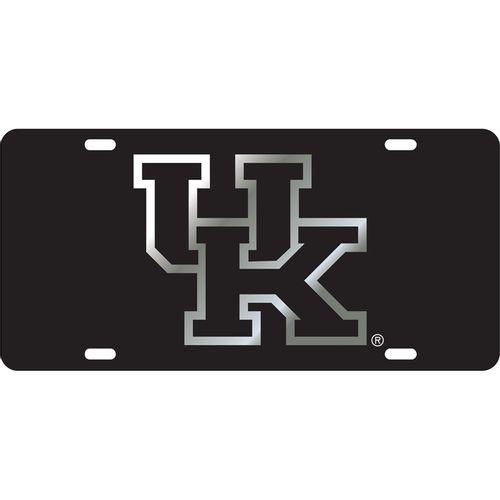 Kentucky Wildcats Logo Laser Cut License Plate (Black)