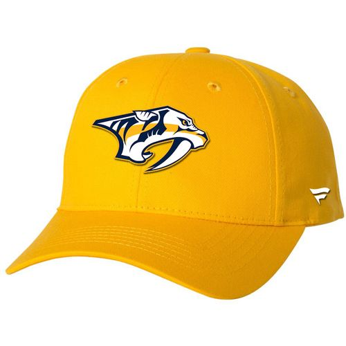 Fanatics Nashville Predators Pred Head Adjustable Hat (Gold)