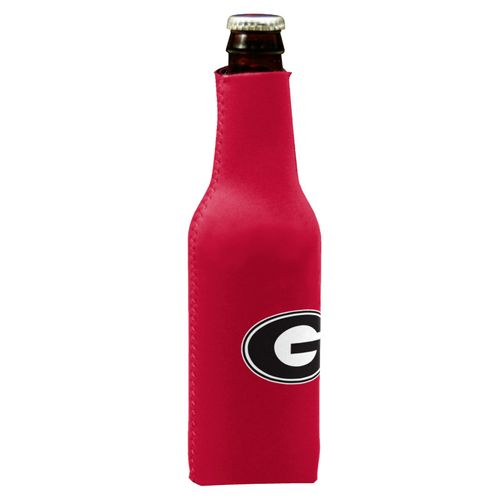 Georgia Bulldogs Bottle Coozie (Red)
