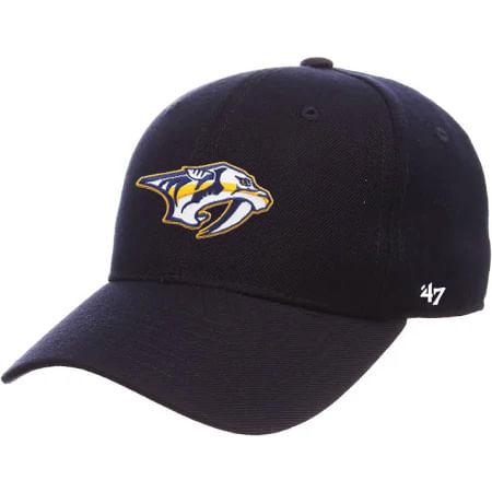 '47 Brand Nashville Predators MVP Adjustable Hat (Navy)