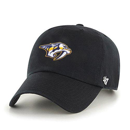 '47 Brand Nashville Predators Logo Clean Up Adjustable Hat (Dark Navy)