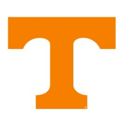 "Tennessee Volunteers Vinyl Power T Decal (6"")"