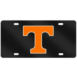 "Tennessee Volunteers Power ""T"" Reflective License Plate"
