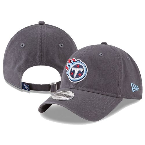 Tennessee Titans Core Classic Twill Adjustable Hat (Graphite)