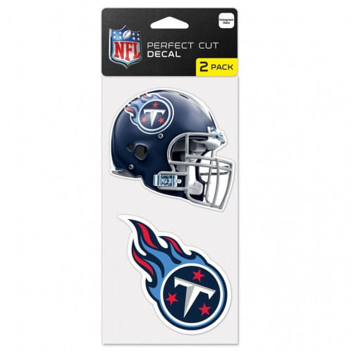 Tennessee Titans set of two Titans Die-Cut Decals