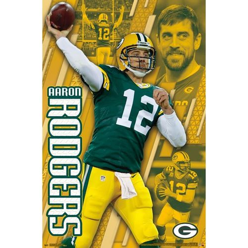 Green Bay Packers Aaron Rodgers Poster