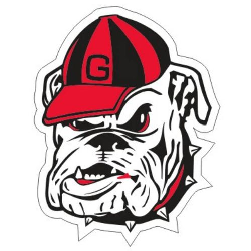 Georgia Bulldogs Bulldog Decal