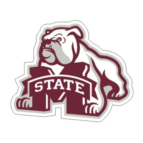 "Mississippi State Bulldogs Bulldog 4"" Logo Decal"