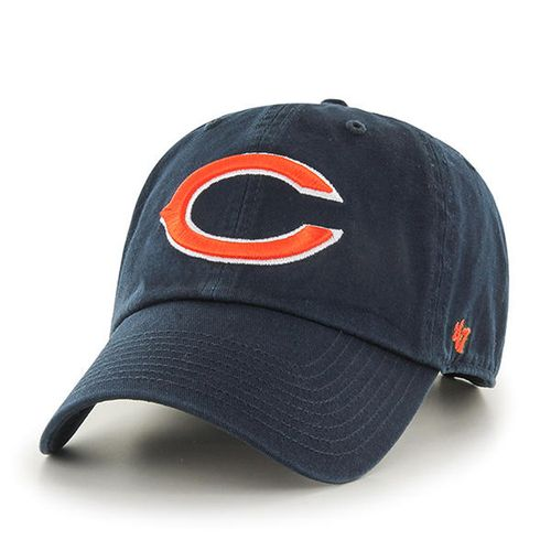 '47 Brand Chicago Bears Clean Up Adjustable Hat (Navy)