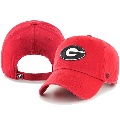 '47 Brand Georgia Bulldogs Clean Up Adjustable Hat (Red)