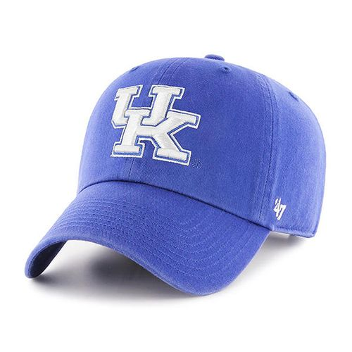 '47 Brand Kentucky Wildcats Clean Up Adjustable Hat (Royal/White)