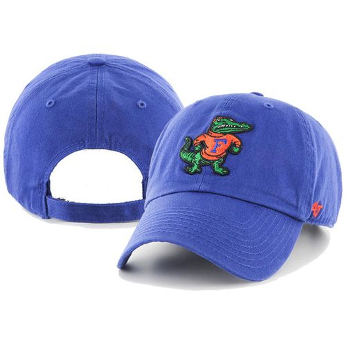 '47 Brand Florida Gators Clean Up Logo Hat (Royal)