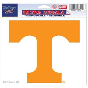 "Tennessee Volunteers Power ""T"" Ultra Decal"