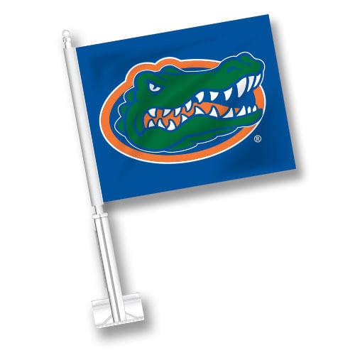 Florida Gators Logo Car Flag (Royal)