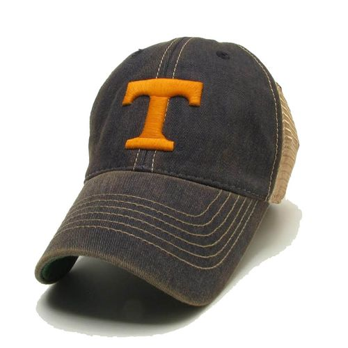 Youth Tennessee Volunteers Power T Trucker Adjustable Hat (Navy)