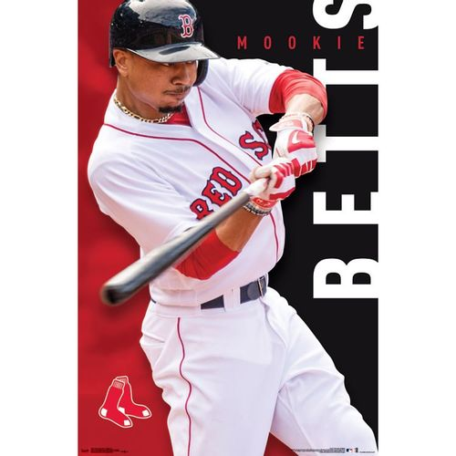 Boston Red Sox Mookie Betts Poster