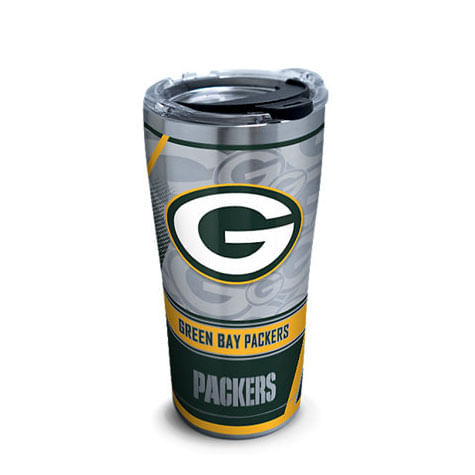 Green Bay Packers 30oz Edge Stainless Steel Tervis Tumbler