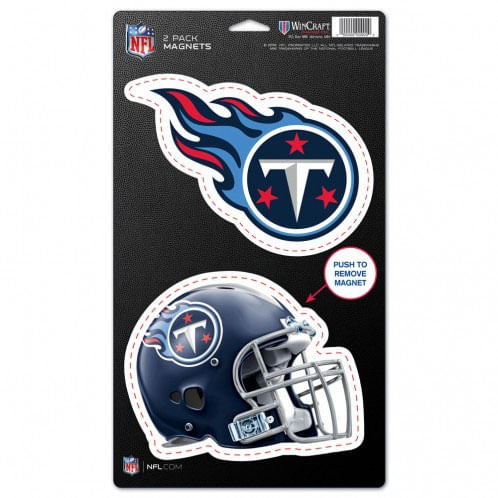 Tennessee Titans 2 Pack Magnet Set